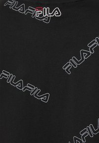 Fila - JAMILIA WIDE CROPPED TEE - Camiseta estampada - black - 2
