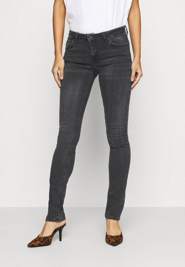 ASPEN - Jeans slim fit - black denim