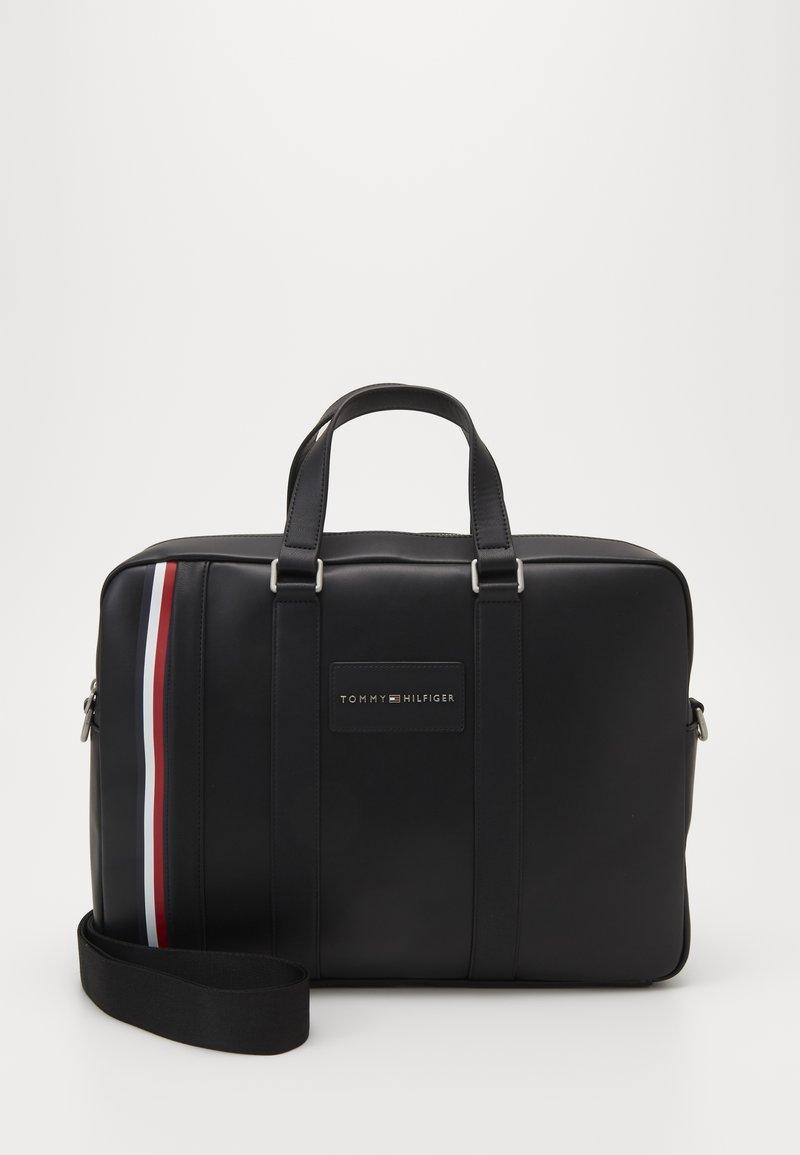 Tommy Hilfiger - METROPOLITAN COMPUTER BAG - Briefcase - black