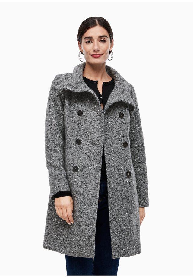 Manteau classique - grey tweed