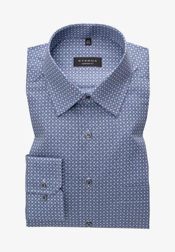COMFORT FIT - Skjorter - blau/grau
