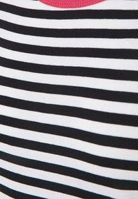 edc by Esprit - CAP SLEEVE - Print T-shirt - navy - 2