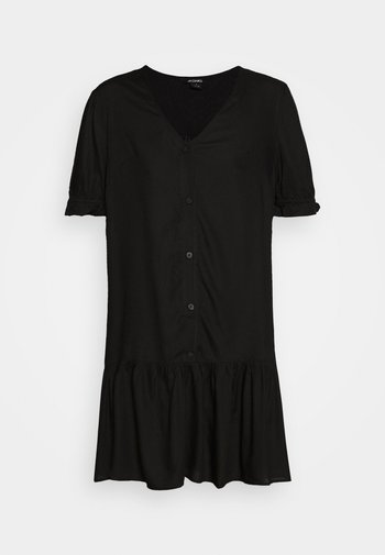 WILLA DRESS - Kjole - black dark