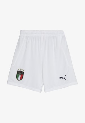 ITALIEN FIGC HOME & AWAY SHORTS - Sportovní kraťasy - white