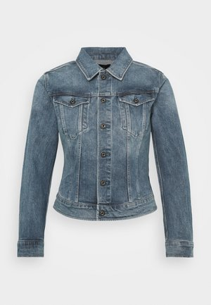 3301 SLIM - Denim jacket - sun faded stone