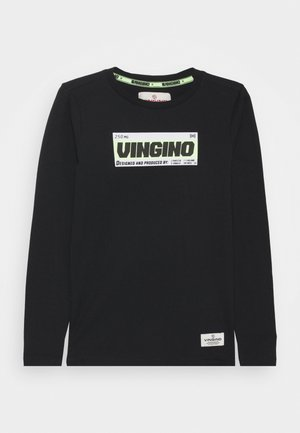 JATUP - Long sleeved top - deep black