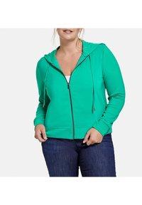 Samoon - Zip-up sweatshirt - electric green - 1