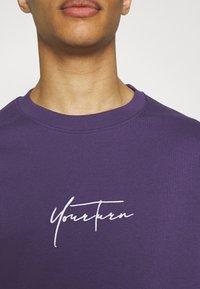 YOURTURN - Sweatshirt - purple - 4