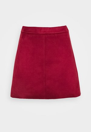 ONLLINEA BONDED SKIRT  - A-line skirt - rhubarb