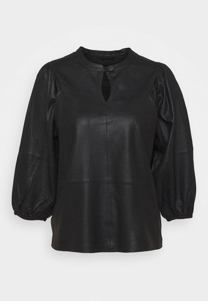 DEPECHE - Blouse - black