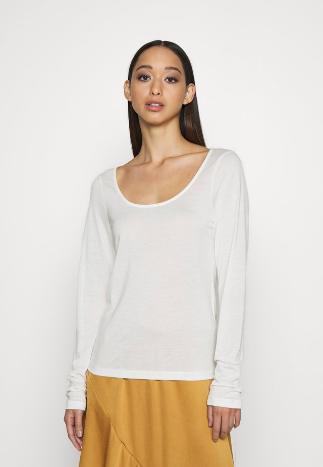 AMANDA - Long sleeved top - ivory
