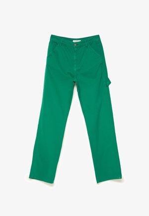 STRAIGHT WORKWEAR 08337106 - Kalhoty - green