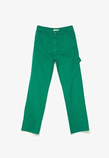 STRAIGHT WORKWEAR 08337106 - Tygbyxor - green