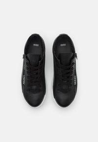 HUGO - DEVA LACE UP ZIP - Trainers - black - 4