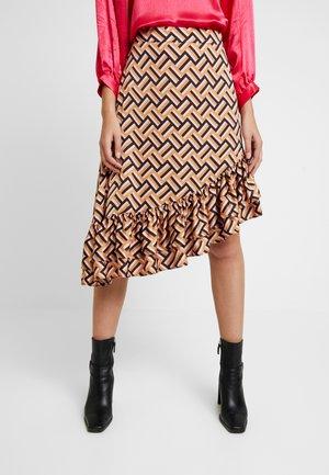 LORI SKIRT - A-snit nederdel/ A-formede nederdele - pureed pumpkin
