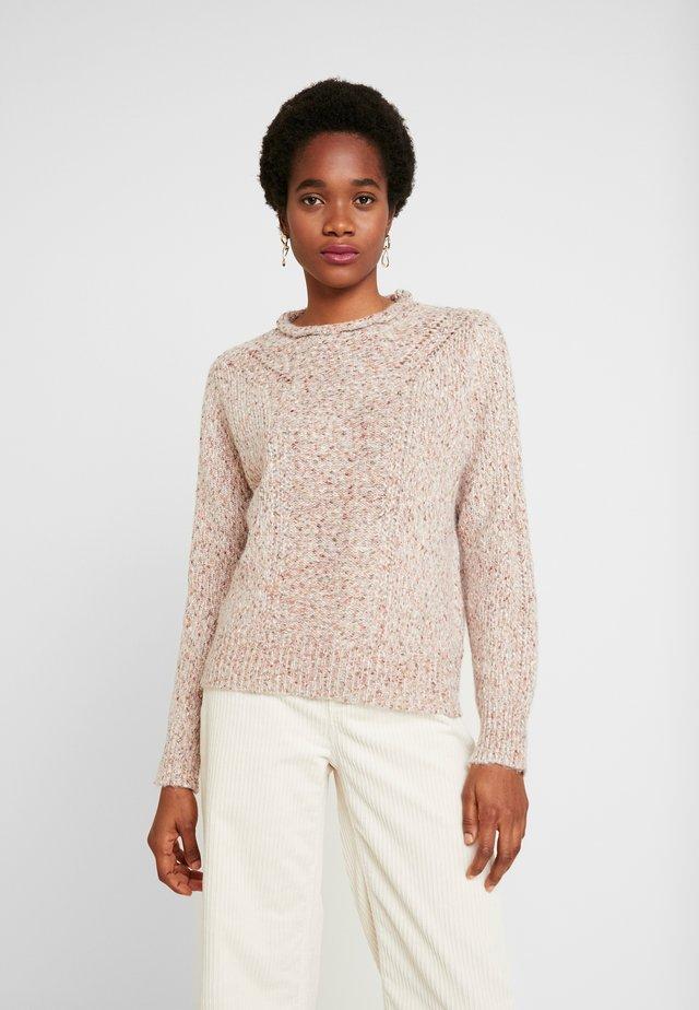 PRETTY POINTELLE JUMPER - Sweter - multi-coloured
