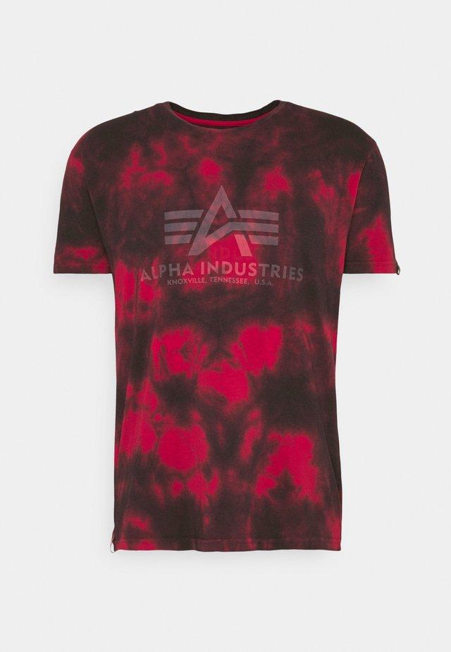 BASIC BATIK - T-shirt print - speed red
