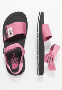 The North Face - W SKEENA SANDAL - Walking sandals - heather rose/asphalt grey - 1