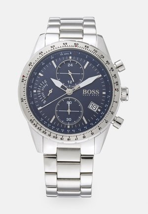 PILOT EDITION  - Chronograph watch - silver/blue