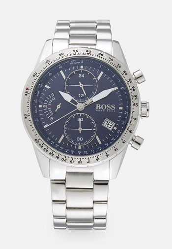 PILOT EDITION  - Chronograph watch - silver/blue