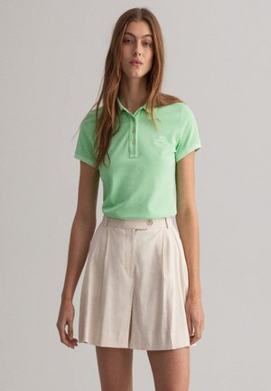 Polo shirt - pastel green