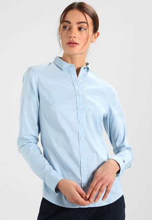 AMY - Button-down blouse - shirt blue