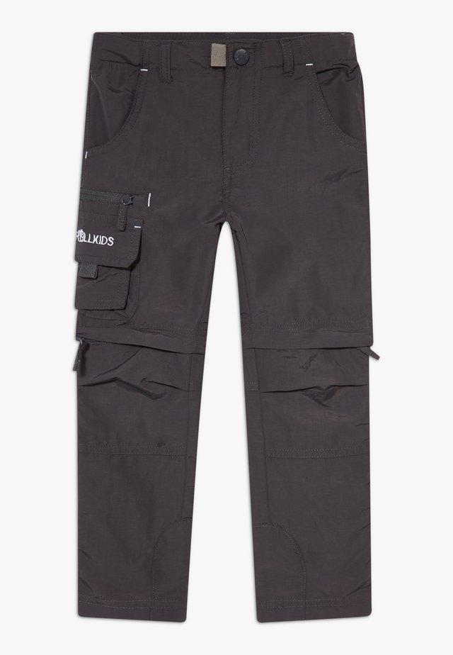KIDS OPPLAND  - Pantalones montañeros largos - dark grey