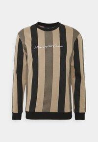 Kings Will Dream - VEDLO CREW - Sweatshirt - dark sand/black - 4