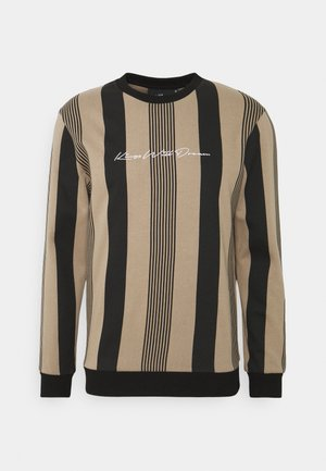 VEDLO CREW - Sweatshirt - dark sand/black