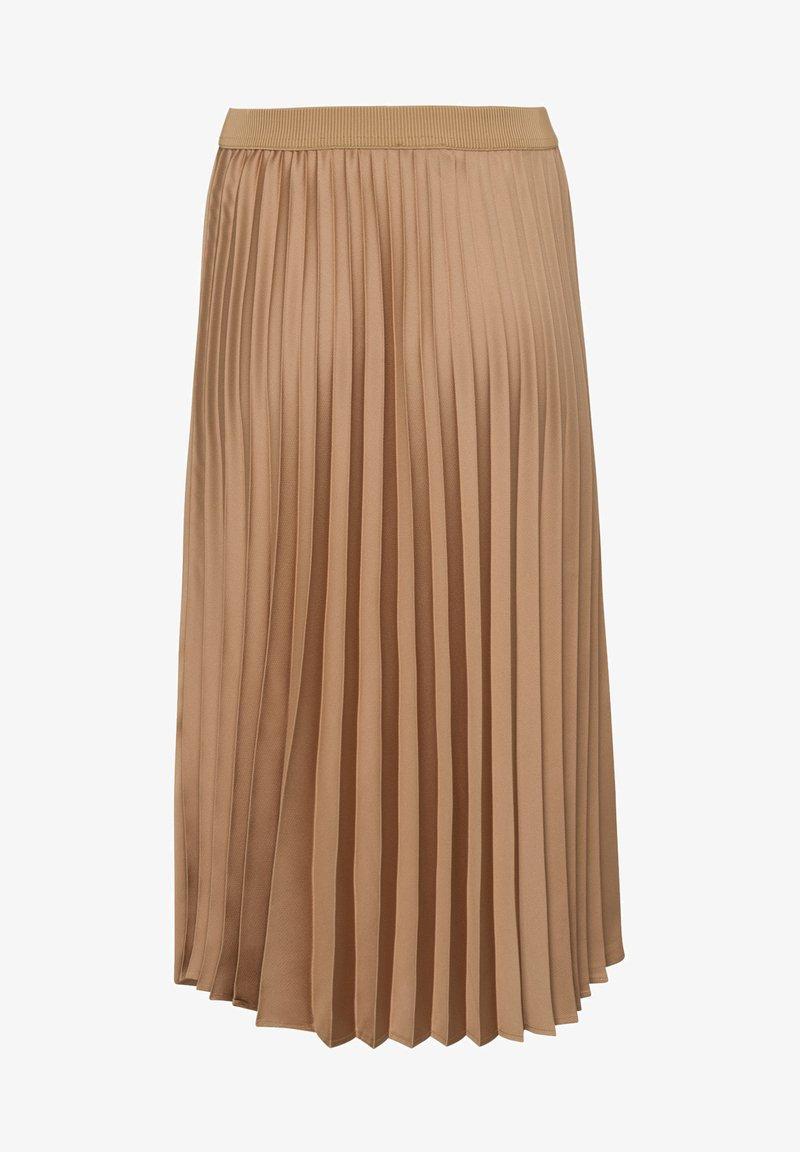 More & More - A-line skirt - camel