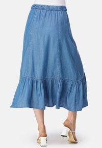 HELMIDGE - A-line skirt - blau - 1