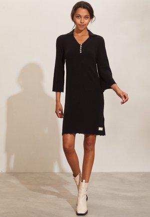 FAITH - Jumper dress - almost black