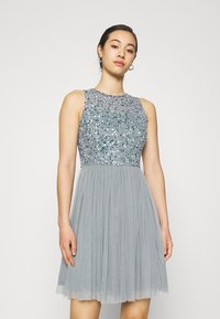 Lace & Beads - AVIANNA SKATER - Cocktail dress / Party dress - teal - 0