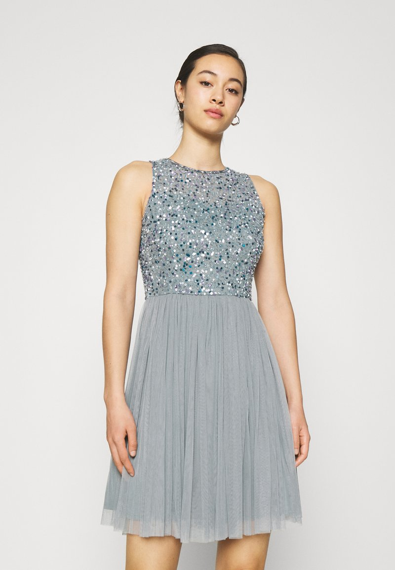 Lace & Beads - AVIANNA SKATER - Cocktail dress / Party dress - teal