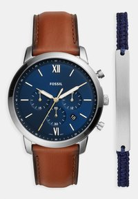 Fossil - NEUTRA CHRONO SET - Chronograph watch - brown - 0