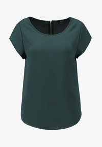 ONLVIC SOLID  - T-shirts - green gables