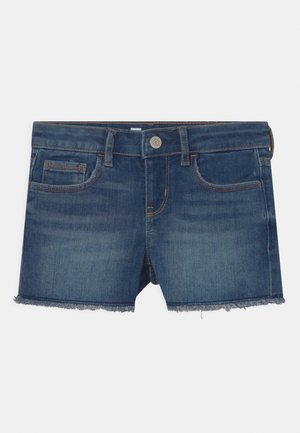 GIRL SHORTIE - Denim shorts - dark blue denim