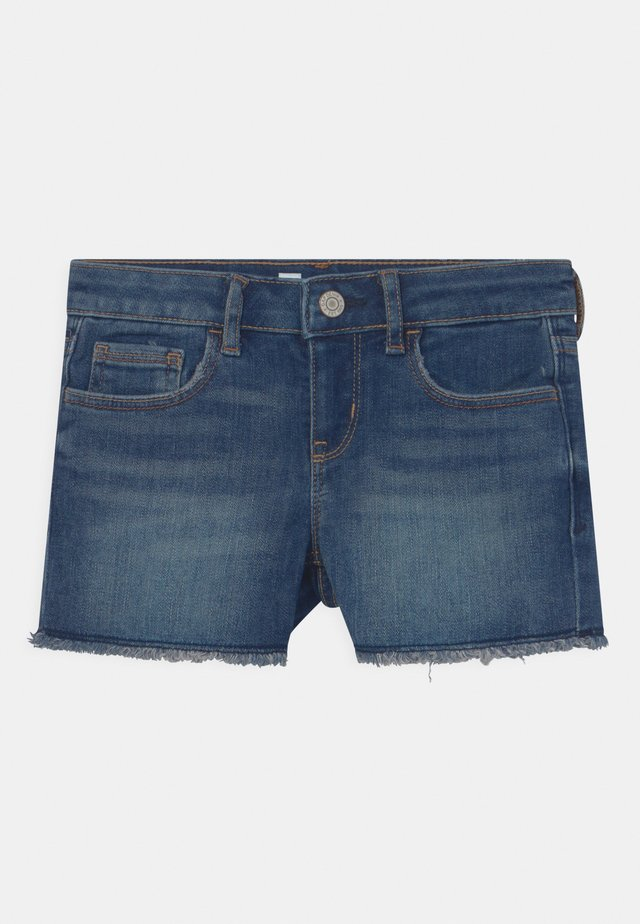 GIRL SHORTIE - Shorts di jeans - dark blue denim