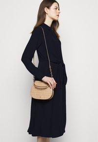 Lauren Ralph Lauren - TRIPLE GEORGETTE DRESS - Day dress - navy - 3