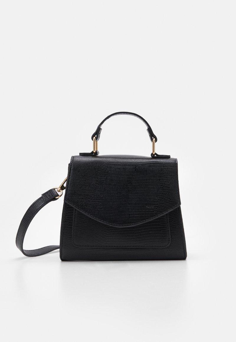 Pieces - PCGAIGA MINI CROSS BODY - Handbag - black