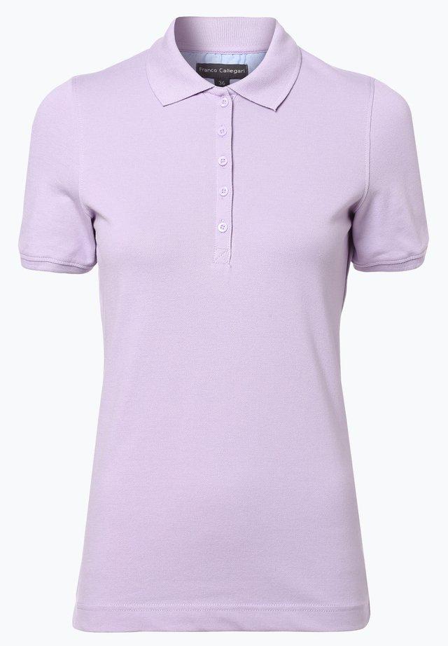 Polo shirt - flieder