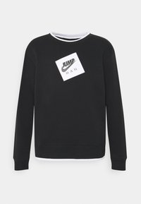 Jordan - CREW - Sweatshirt - black/white - 5