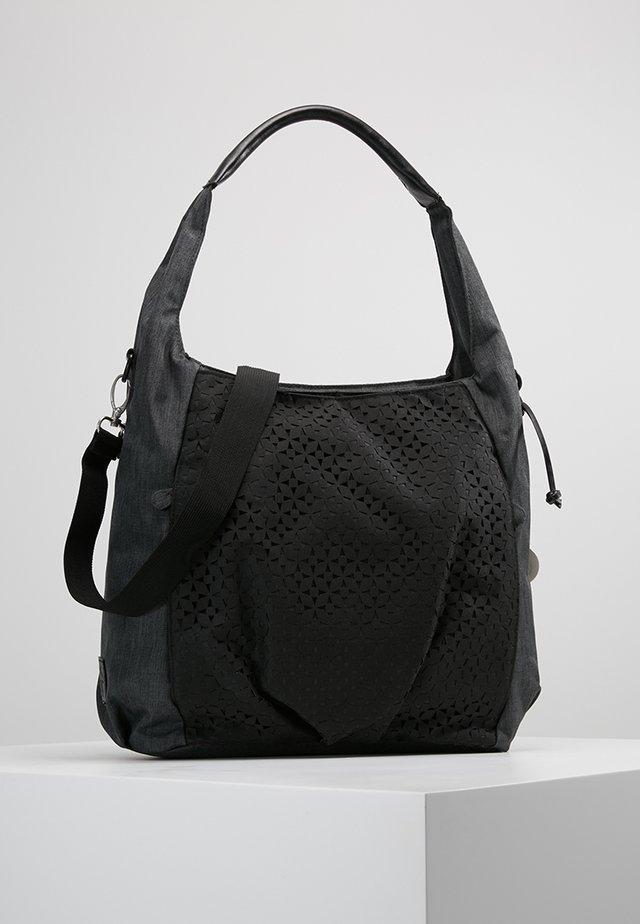 HOBO BAG - Baby changing bag - black