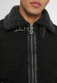 Gipsy - AIR FORCE - Leather jacket - schwarz - 3