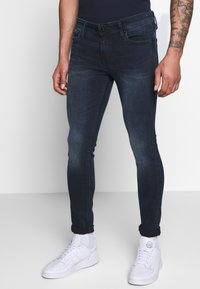 Jack & Jones - JJILIAM JJORIGINAL  - Jeans slim fit - blue denim - 0