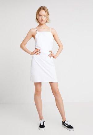 LADIES SPAGHETTI DRESS - Day dress - white