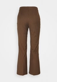 Monki - WENDY TROUSERS - Trousers - brown - 1