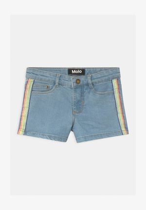 ANGELINA - Denim shorts - light blue denim