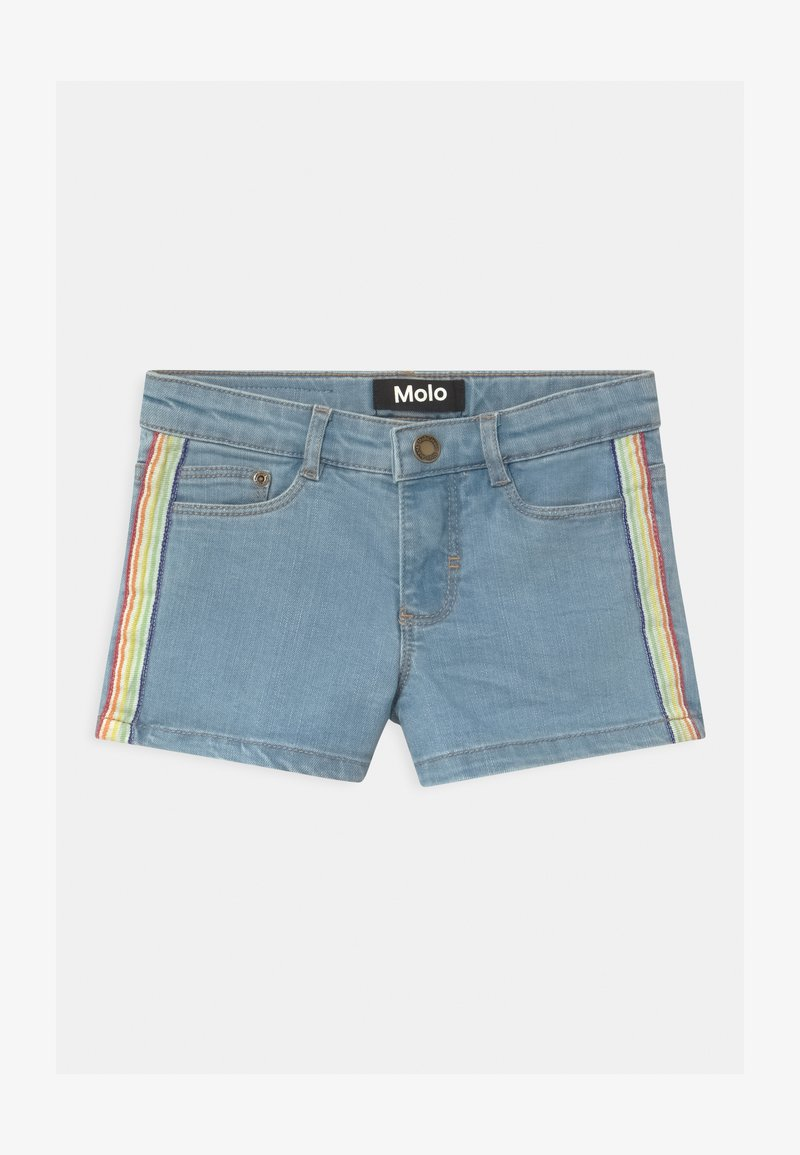 Molo - ANGELINA - Denim shorts - light blue denim