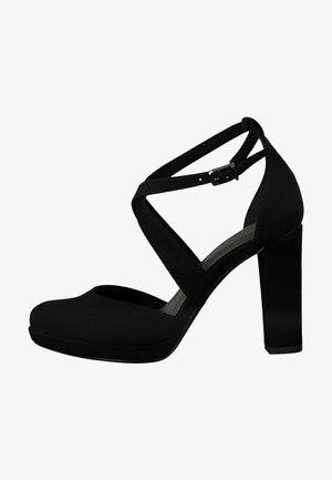 PUMPS - Escarpins à talons hauts - black suede